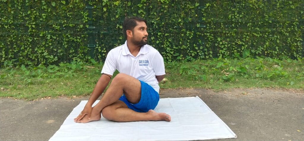 Ardha Matsyendrasana Exercises for Sciatica Pain