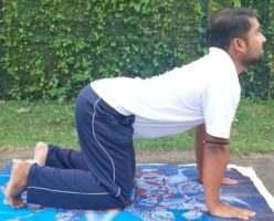 Chakravakasana Yoga Pose for beginners at home