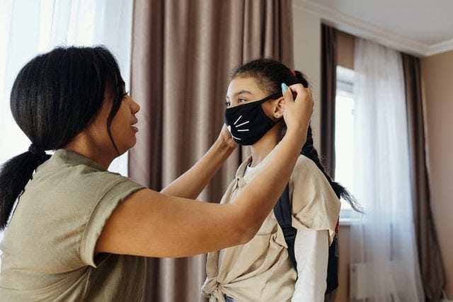 cloth mask prolonged use of a face masks