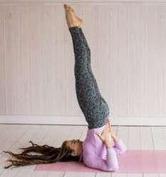 Sarvangasana Weight Gain Yoga