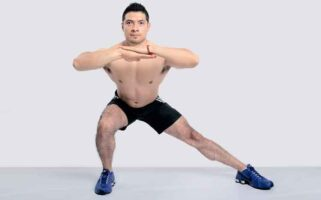 curtsy-lunges