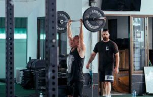 Hang-Clean-and-Press-Exercise