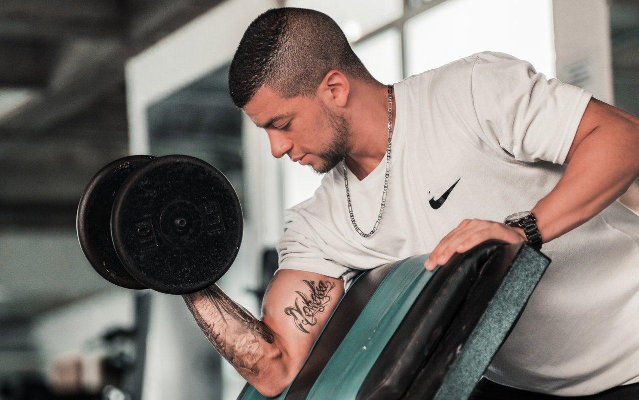 Preacher curl workout