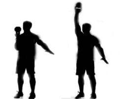 bottom-up shoulder exercise