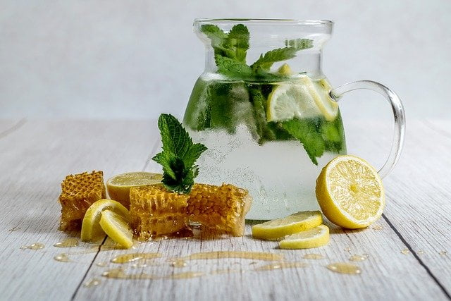 lemon and honey Homemade Juices Weight Loss