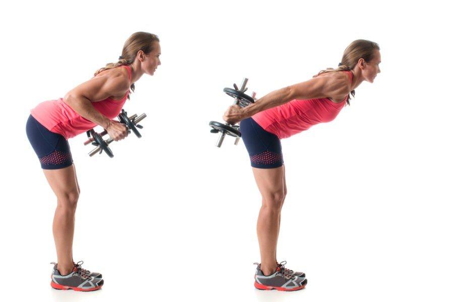Tricepkick Backs Upper Body Exercises