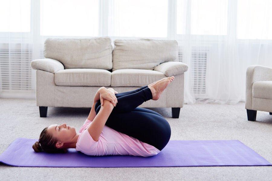 apasana yoga