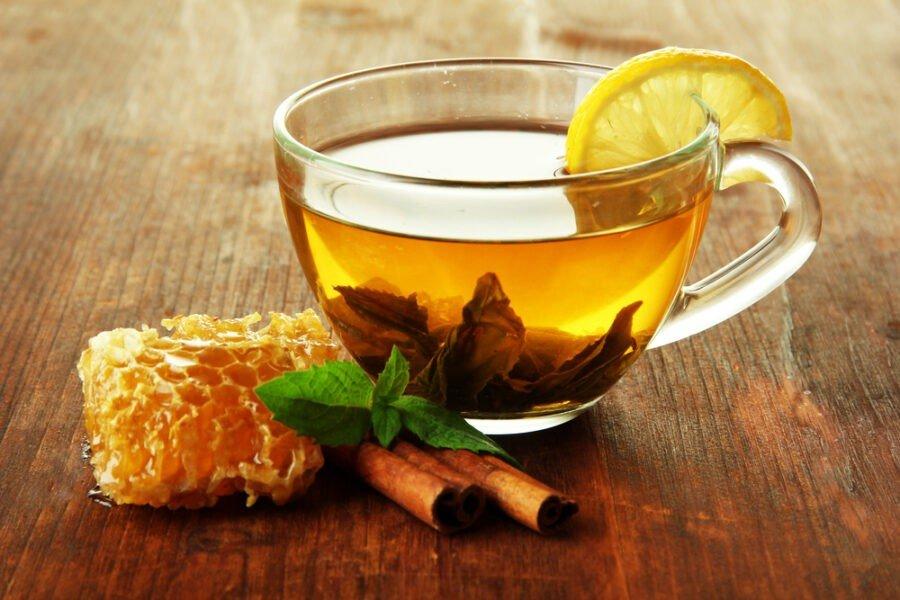 honey and cinnamon immune boosting tea