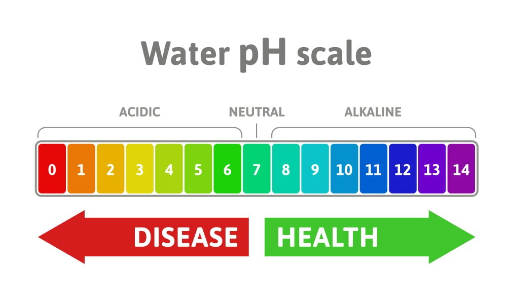 water ph scale