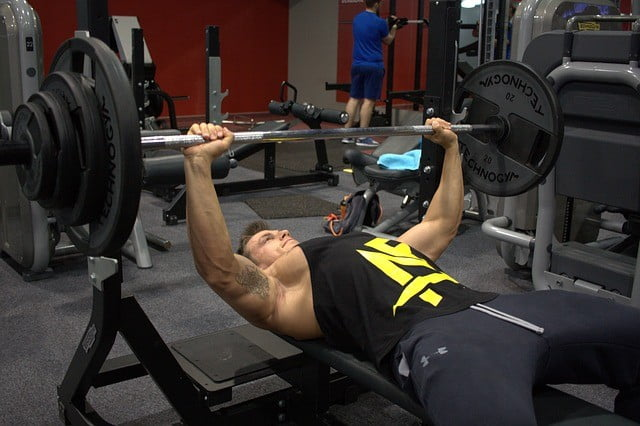 Pinch Press Close Grip Bench Press with Dumbbell
